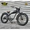 Warrior E-Bike Nero Opaco