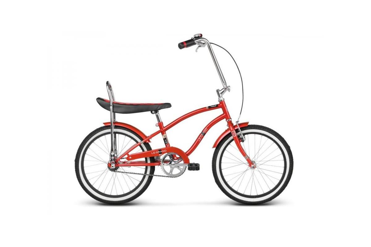 Bicicletta Little Chopper Cross Rosso