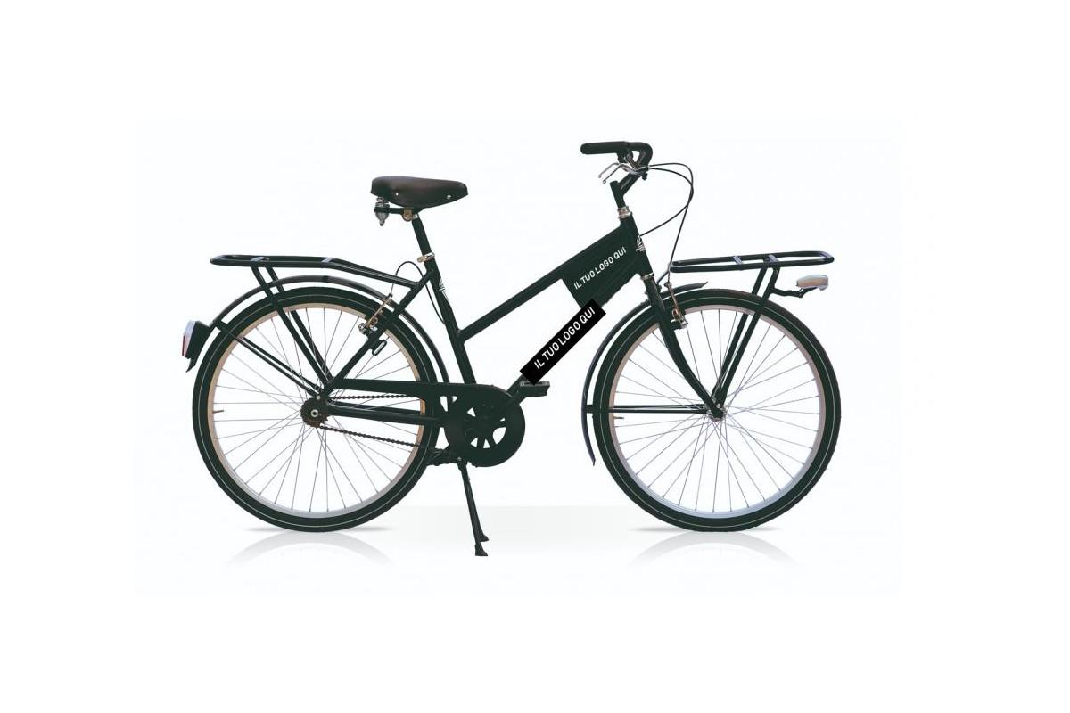 Black Transport Cargo Bike
