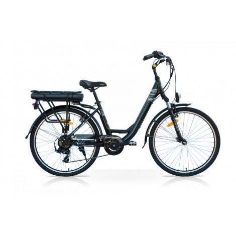 E-bike Venus 26 250W Bafang 14 Ah Nero