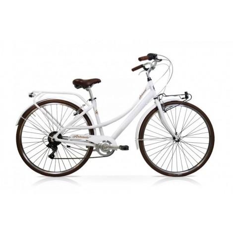 Bicicletta Andromeda 28 Donna 7V Bianco Mercurius
