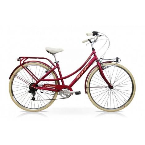 Bicicletta Andromeda 28 Donna 7V Bordeaux Mercurius