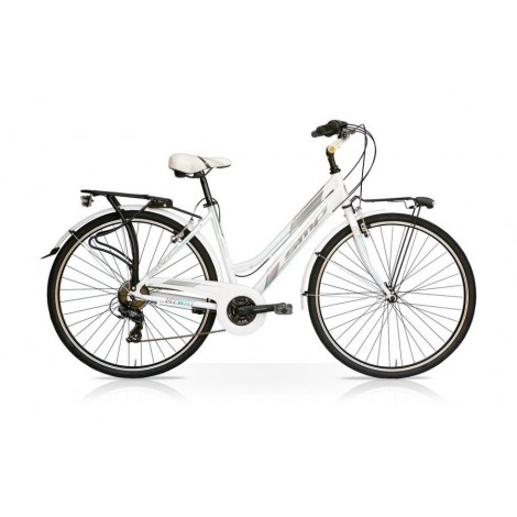 Bicicletta MY WAY 28 Donna 7V Bianco/Tiffany Mercurius