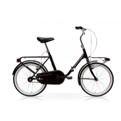 Bicicletta Pieghevole Vintage 20 Nero Mercurius