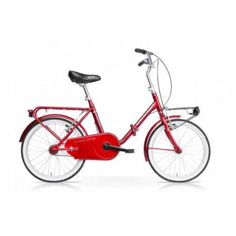 Bicicletta Pieghevole Vintage 20 Rosso Mercurius