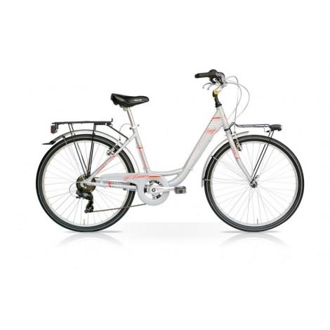 Bicicletta Venus 28 Donna 7V Grigio Mercurius