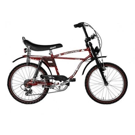 StarCross Vintage 20 Bike 6V Ruby Red
