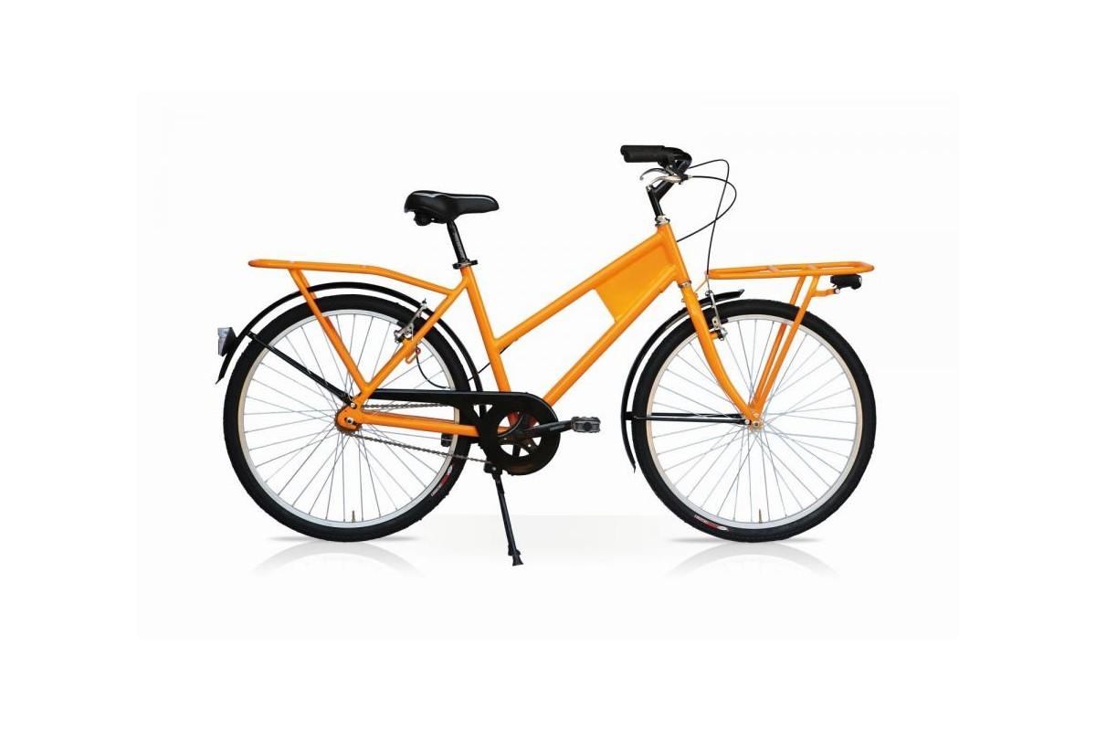 Yellow Transport Cargo Bike