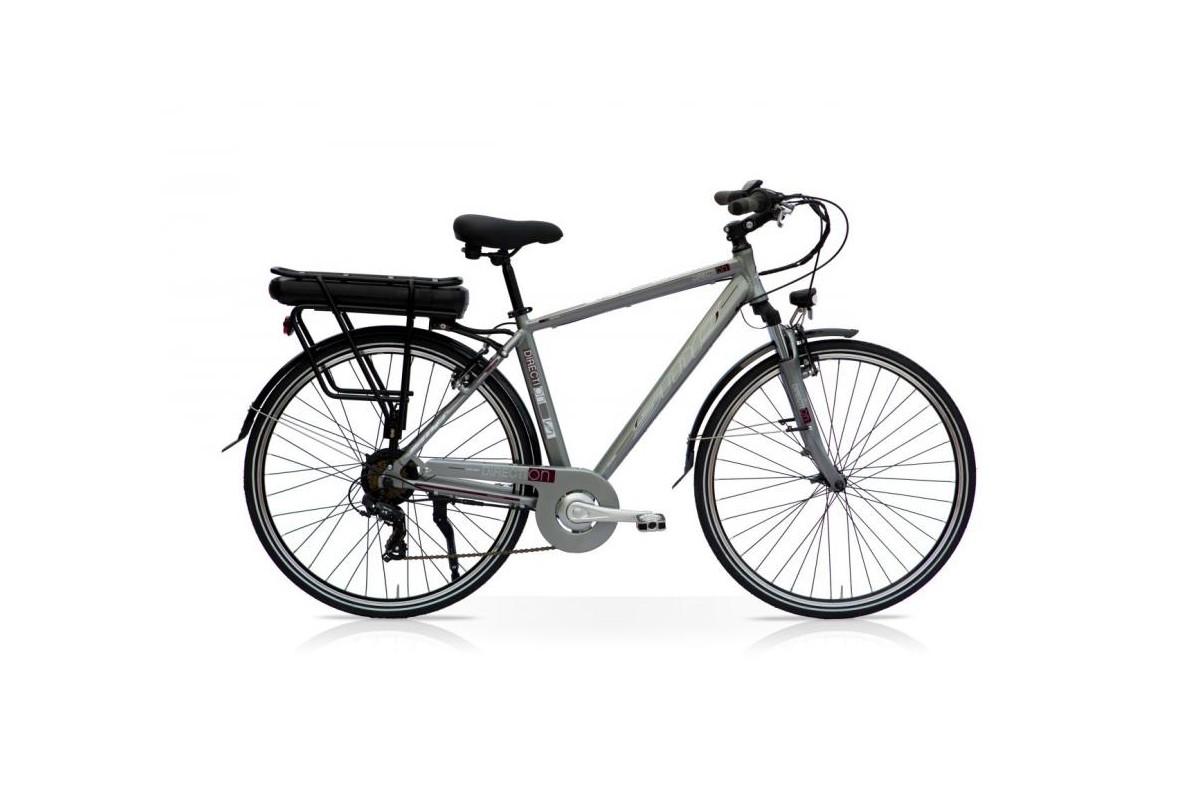 E-bike Uomo Urban 250W Bafang 14 Ah Titanio