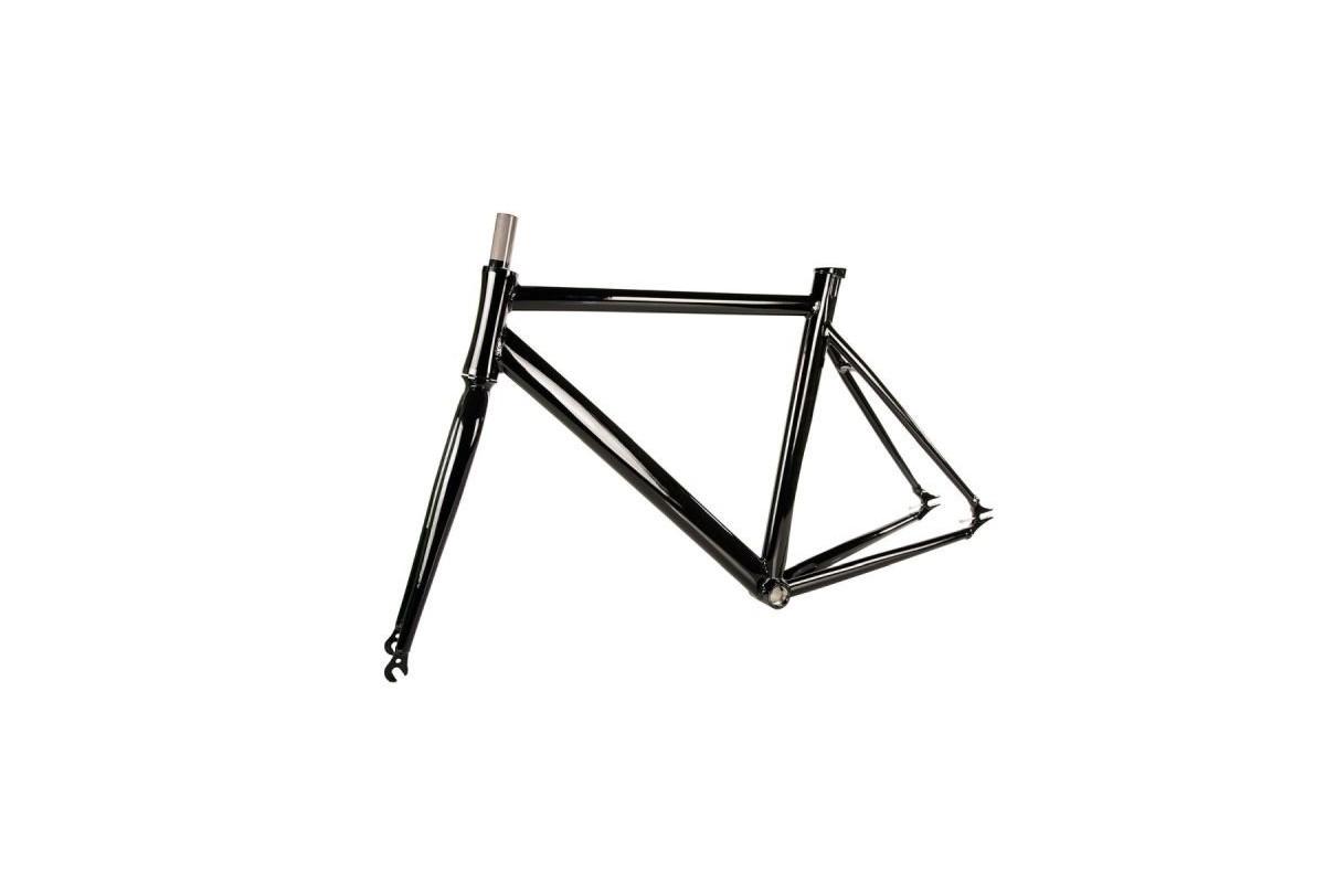 Fixed Black Aluminum Frame Kit