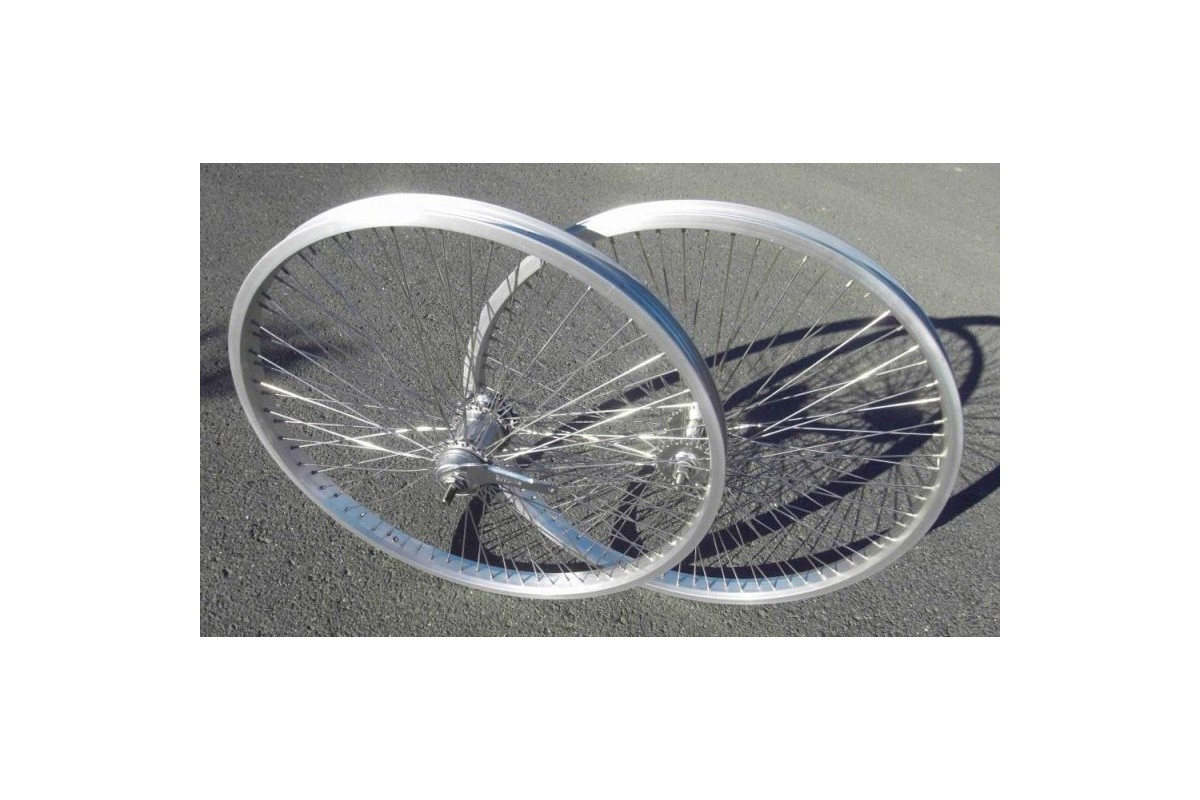24 72 3 rays gear wheel set Silver