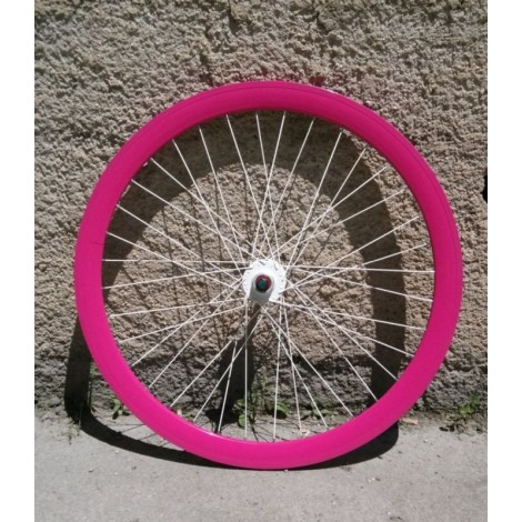 Fixed Extra 40 mm wheel set + pink