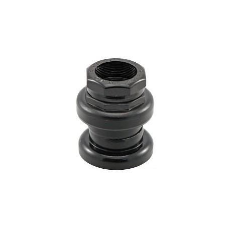 Serie Sterzo 1\'\' filettata alluminio nero