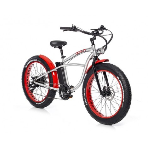 Bad Bike Beach Fat 250W Silver
