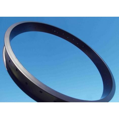 61 x 26 mm black circle Opac or