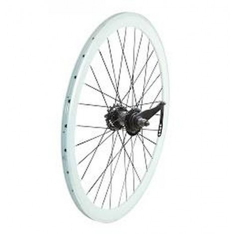 Coaster White 28 wheel set