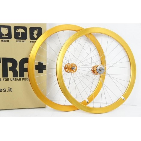 42 mm Anodized wheels fixed set Extra +