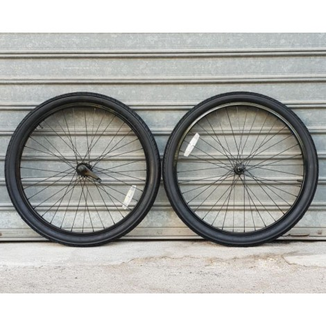 Complete wheel set coaster 26 Black
