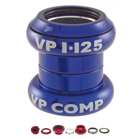 Serie sterzo A-Head set 1\'\' - 1/8\'\' alluminio Blue