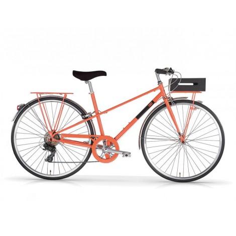 Bicicletta Donna Vintage Mbm Randonee 1897 Salmon