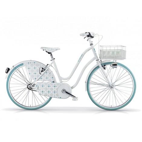 Bicicletta Donna Mbm Mima Matt Bright White