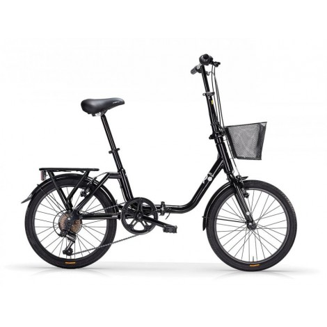 Bicicletta Pieghevole Mbm kangaroo Black