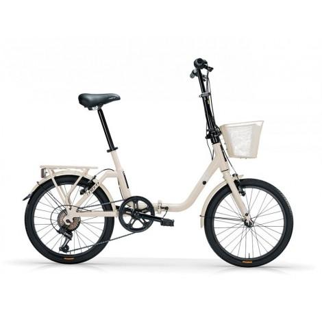Bicicletta Pieghevole Mbm kangaroo Cream