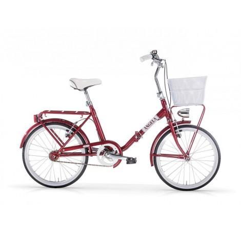 Bicicletta Pieghevole Mbm Angela Met Red