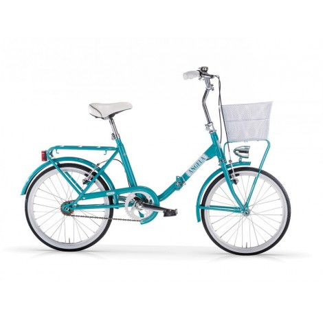 Bicicletta Pieghevole Mbm Angela Turquoise