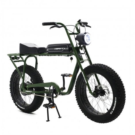 Super73 SG 250W E-Bike Matt Green