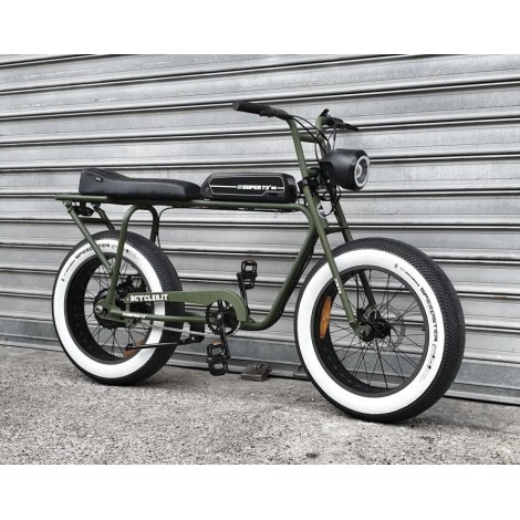 Super73 SG Custom 250W E-Bike Matt Green